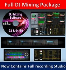 Audio Software CD DJ Music Mixing Editing Recording Audio youtube karaoke CD