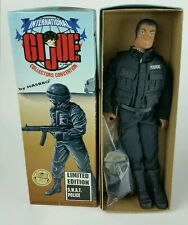 GI JOE 12 in SWAT POLICE 1995 LTD EDITION African American Numbered Low Run 000X