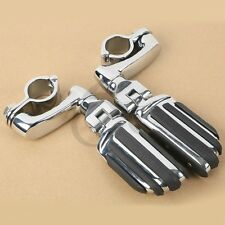 """1.25"""" Engine Bar Highway Foot Pegs For Harley Touring Road Electra Glide FLHT US"""