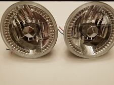 CHEVROLET CHEVELLE ROUND 7 inch HEADLIGHTS El CAMINO c10 TRUCK BMW LED pair