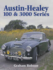Book - Austin Healey 100 & 3000 Series - Robson - New copy in Plastic - Crowood