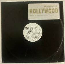 "Madonna Hollywood Maxisingle 12"" USA 2003 Promocional sticker en portada"