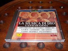 LA MUSICA DI DIO - CANTI DI GIOIA Editoriale Cd ..... New