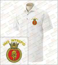 HMS Intrepid Embroidered Polo Shirts