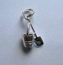 Sterling Silver Bucket and Spade Charm