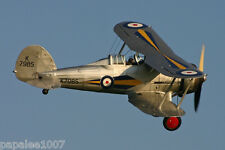 """Model Airplane Plans (FF): GLOSTER GLADIATIOR 1/12 Scale 32"""" for 1/2A (.75-1cc)"""