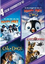 Critters with Character Collection: 4 Film Favorites (DVD, 2014, 4-Disc Set) New