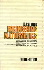 Engineering Mathematics: Programmes and Problems By K. A. Stroud. 9780333448878