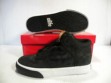 ALIFE EVERYBODY HIGH CORE LEATHER SNEAKER MEN SHOES BLACK F92EVHLN2 SIZE 7 NEW