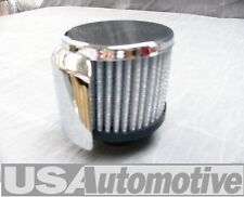 "CHEVY CHROME  ""PUSH-IN"" 3"" FILTER BREATHER CAP  WA9516"