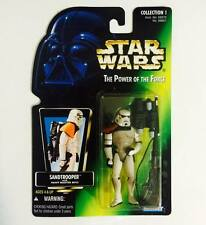 "HASBRO / KENNER STAR WARS 3.75INCH POWER OF THE FORCE "" SANDTROOPER "" -RARE"