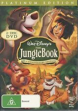 The Jungle Book 40th Anniversary Platinum Edition DVD NEW