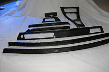 BMW REAL CARBON FIBER  E92 2 DOOR OEM INTERIOR TRIM REFINISHED--CARBON FIBER