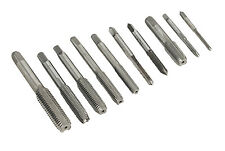 Sealey 10 Piece Hardened Steel/Metal Metric Tap Set 3mm-12mm For Die/Dies AK304M