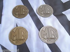 MGZR MG ZR Alloy wheel centre badge inserts 4 off MG Sport & Racing XPower