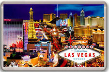 LAS VEGAS NEVADA FRIDGE MAGNET SOUVENIR IMAN NEVERA