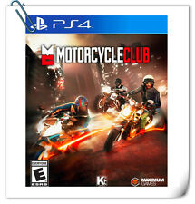 PS4 SONY PlayStation Motorcycle Club Racing Maximum Family Games