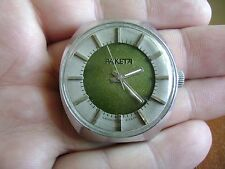 RARE. Vintage mens wrist watch Russian RAKETA 2609 НП. -  mechanical USSR