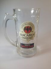 Bacardi Oakheart Smooth Spiced Rum Beer Mug / Glass / Drinking Stein