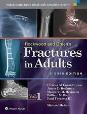 Rockwood and Green's Fractures in Adults (2 Volume Set) by . 1451175310 Hardcove