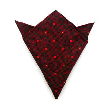 Men's Suit Pocket Towel Hanky Wedding Silk Polyester Pocket Handkerchiefs 2#