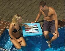 FLOATING MULTI-GAME BOARD Float Pool Party Kids Adults Poolside Swimming 91450