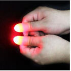 2Pcs party Magic Light Up Thumbs Fingers Trick Appearing Light Close Up New