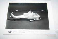 #1850 PHOTO NEGATIVE - 1960s TOYS - SKYLINE - HELICOPTER WITH LIGHTS