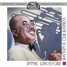 CD JIMMIE LUNCEFORD RHYTHM IS OUR BUSINESS OH BOY FRISCO FROG AINT SHE SWEET ETC