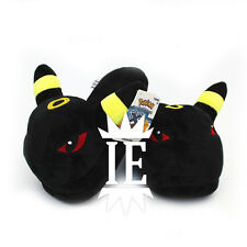 POKEMON UMBREON CIABATTE slippers pantofole cosplay eevee xy chausson peluche ds