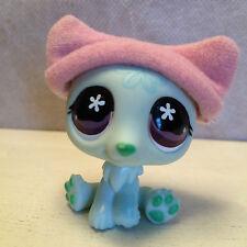 Littlest Pet Shop #794 Polar Bear Mint Green Snowflakes Flower Eyes 6 pics
