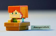 Minecraft Collectible Mini Figures Mattel Dig In! Series 5 Alex (with Boat)