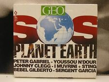 SOS PLANET EARTH CD NUOVO SIGILLATO PETER GABRIEL STING BEBEL GILBERTO J. CLEGG