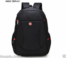 16 Waterproof Laptop Backpack School Computer Notebook Bag Men Travel Swiss Gear