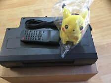Symphonic Pokemon Pikachu VCR Video Cassette Recorder