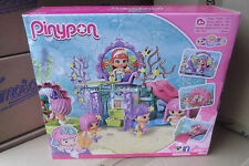 PINYPON MERMAIDS KINGDOM WITH ONE FIGURE AND PET DOLPHIN