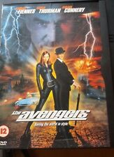 The Avengers (DVD, 1999) Fiennes, thurman, connery