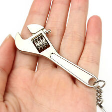 1PCS Mini Tool Wrench Spanner Key Chain Ring Keyring Metal Keychain Adjustable