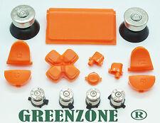 Reemplazo Mod Kit Para Ps4 Controlador + Bala acción del botón + 20 G (orange/sl)