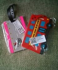 FUN LUGGAGE ID TAGS - both with name and Address label