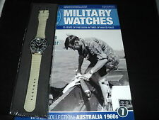 Eaglemoss Military Watches - Issue 7 - Australian Naval Diver Watch 1960s.