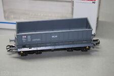 """Märklin 48441 4-Achser Seitenentladewagen """"Sollac"""" SNCF grau Spur H0 OVP"""
