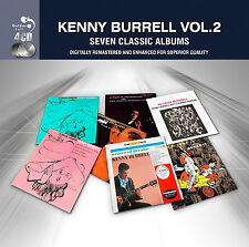 Kenny Burrell SEVEN (7) CLASSIC ALBUMS VOL 2 Bluesy BLUE LIGHTS VOL 1+2 New 4 CD