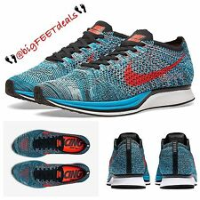 "New NIKE Flyknit Racer ""Fire & Ice"" Size 15 Multicolor USA Air Max Oreo"