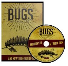 Bugs & Garden Pests ~ How to Get Rid of Them { 54 Vintage Books } ~ DVD Gift Set