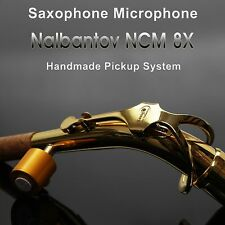 Saxophone Microphone Nalbantov NCM 8X Handmade Pickup System with natural sound