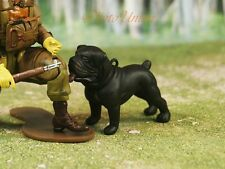 Hood Hounds Bobble Nodder Rottweiler Dog 1:18 GI Joe Cake Topper Figure K1285 Z