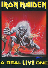 Carte postale + IRON MAIDEN + A real live one + motif 2 +
