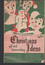 Treasury of Gift & Homemaking Christmas Ideas Booklet Rochester Gas Electric