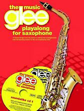 Glee Playalong Alto Saxophone Book and Backing CD Sheet Music Easy Fun B35 S66